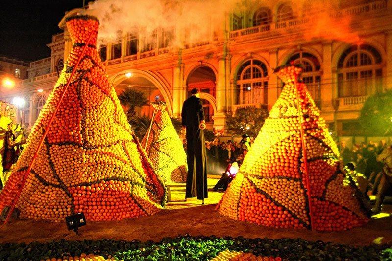 Lemon Festival Gardens Of Light