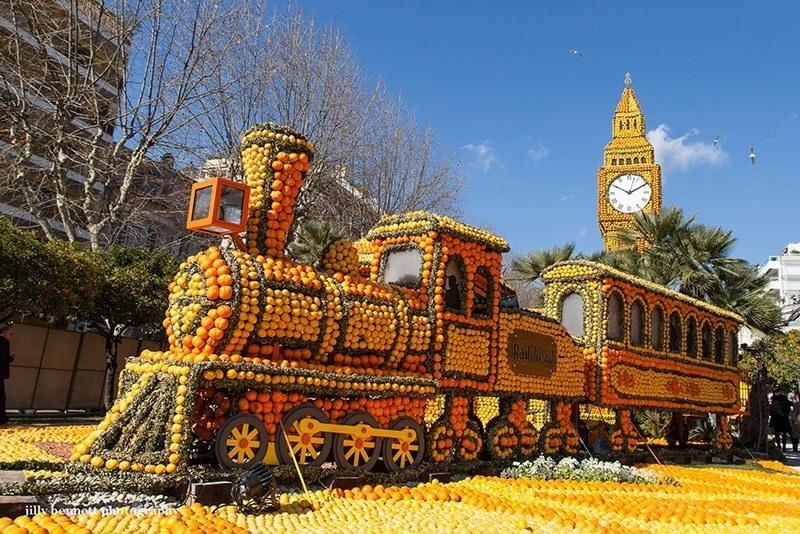 Lemon Festival Pacific Railroad
