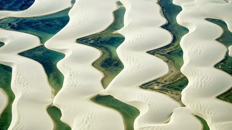 Brazil Sand Dunes Maranhao