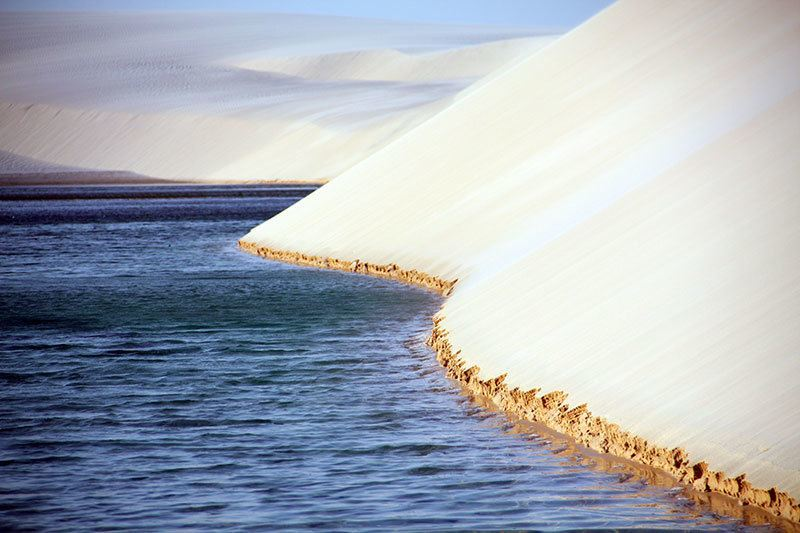Sand Dunes Of Lençóis Maranhenses National Park