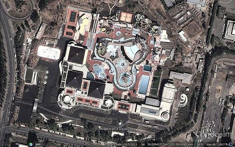 Munsu Water Park Aerial