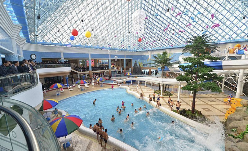 Munsu Water Park Indoor