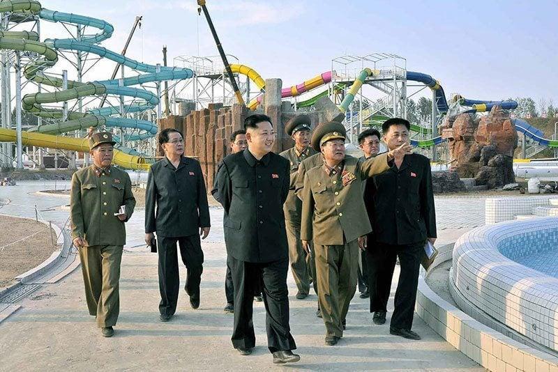 Water Park Kim Jong Un