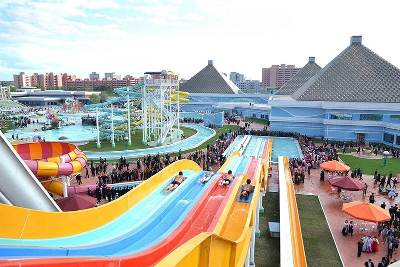 Water Park North Korea