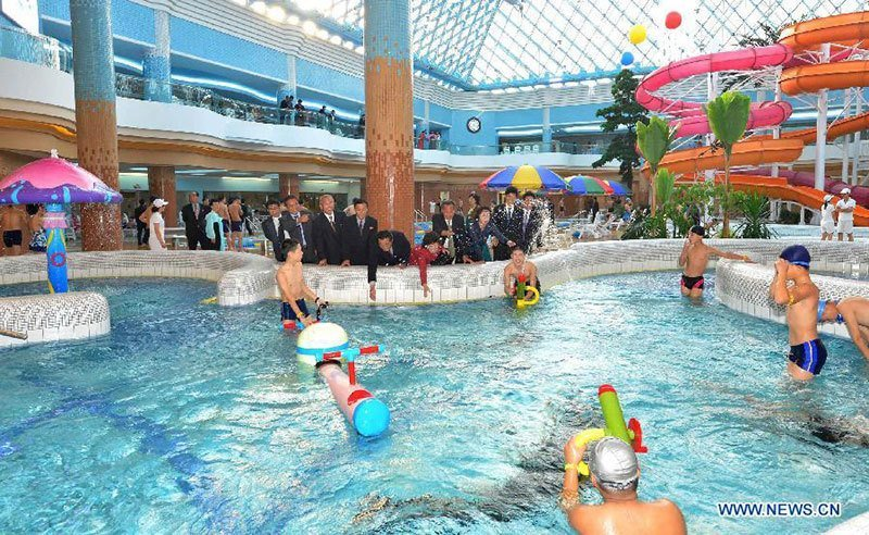 North Korean Water Park Opened