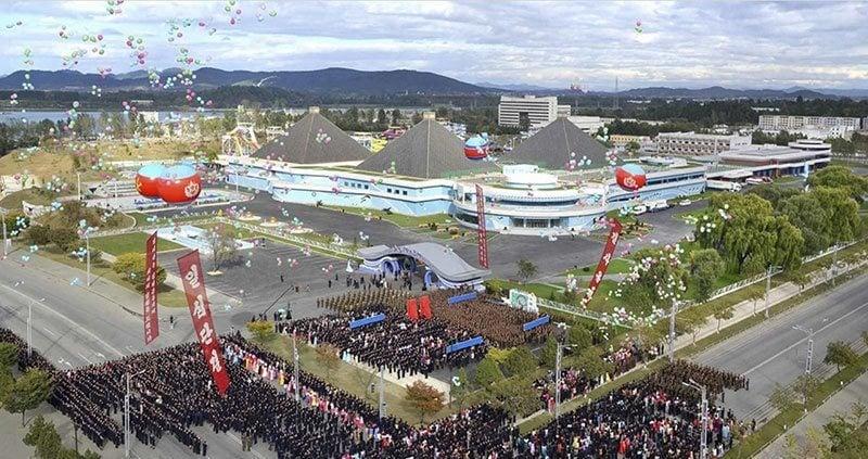 Munsu Water Park Opening Ceremony