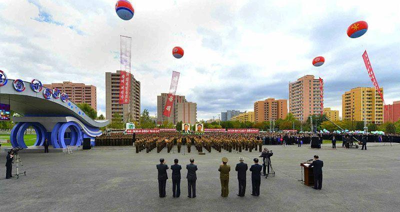 Munsu Water Park Opening Military