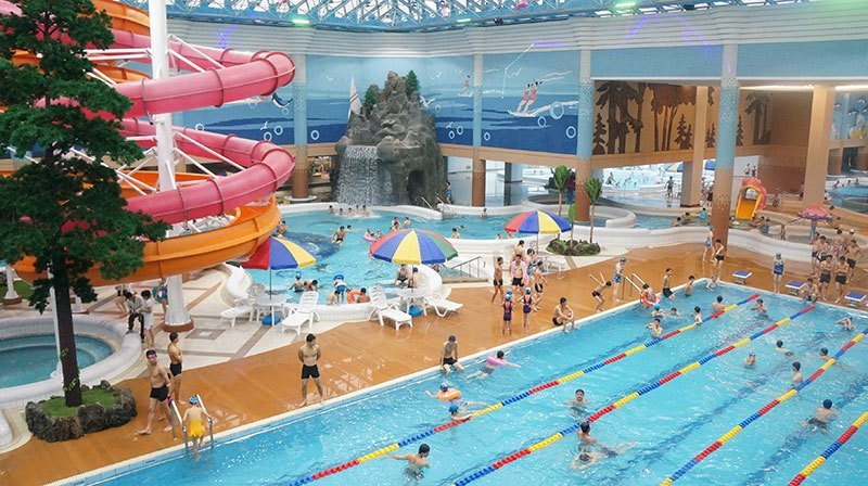 North Korean Water Park