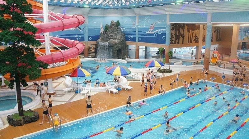 North Korean Water Park