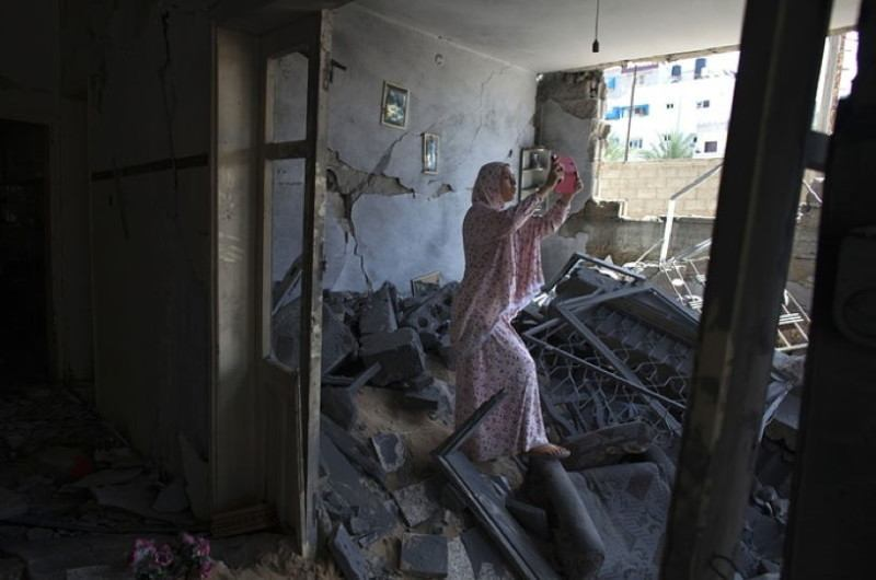 Occupied Palestine Hadil Amar Ruins