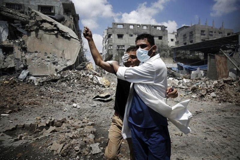 Occupied Palestine Neighborhood Shejaia