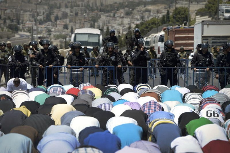 Occupied Palestine Prayer Police