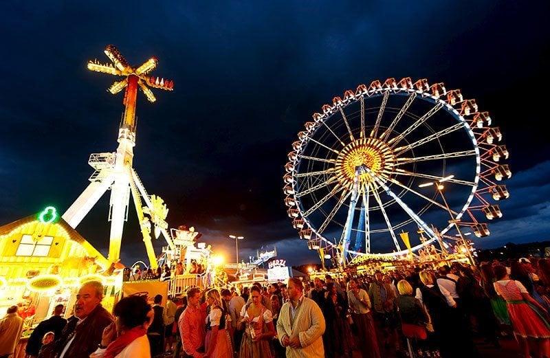 Oktoberfest 2015 Opening Day Munich