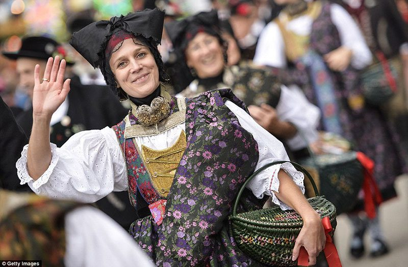 Oktoberfest 2015 Traditional Dress