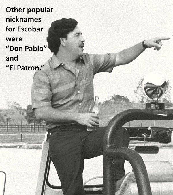 Pablo Escobar Colombia