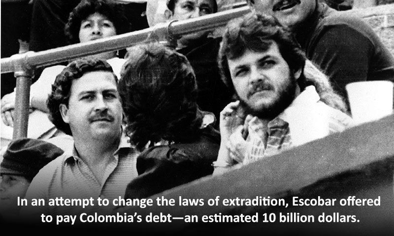 Escobar Kingpin Extradition