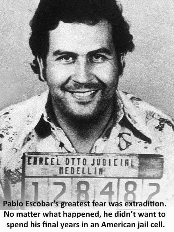 Escobar Mugshot