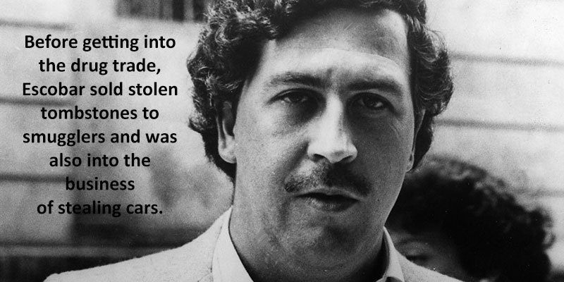 Pablo Escobar Facts About His Young Life