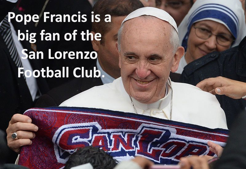 Pope Francis Facts Futbol