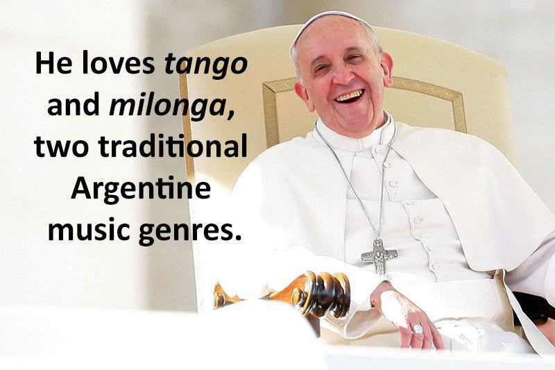 Pope Francis Glee