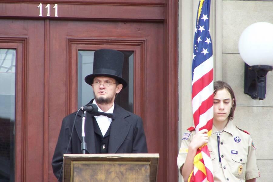 Ralph Lincoln Speaking
