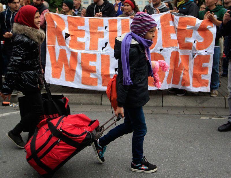 Refugees Arrive Dortmund