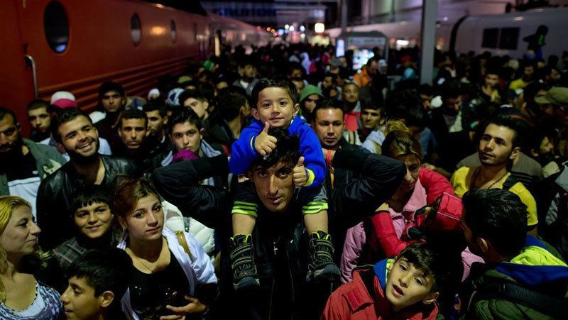Refugees Arrive Germany