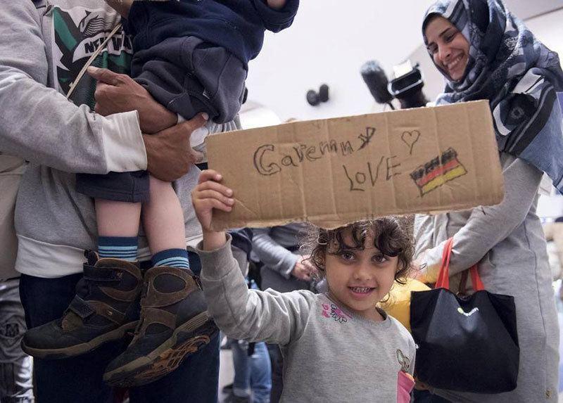 Refugees Arrive Saalfeld