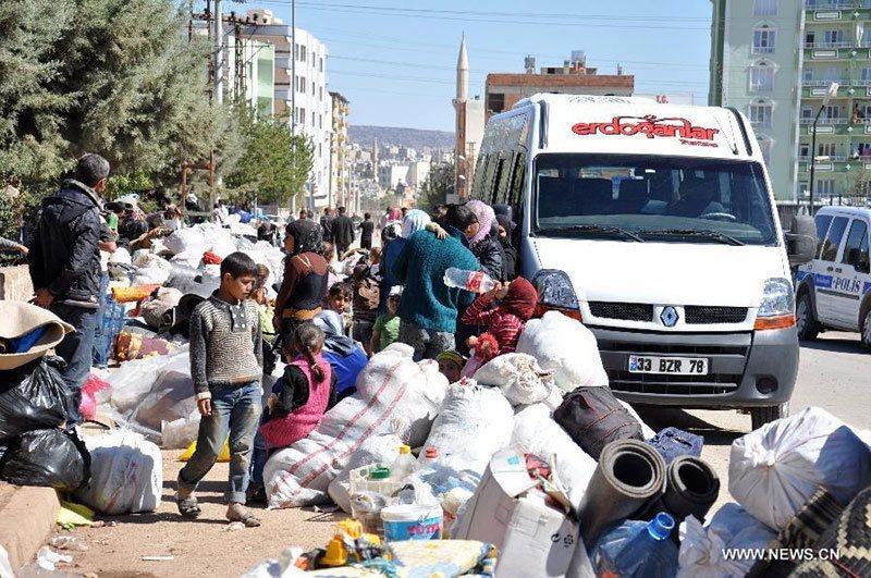 Refugees Arrive Turkey