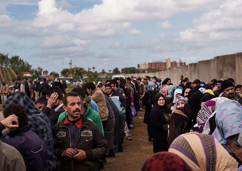 Syrian Refugees Arrive Uk