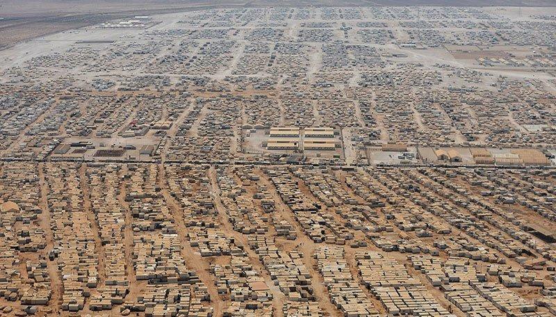 Syrian Refugees Arrive Zaatari