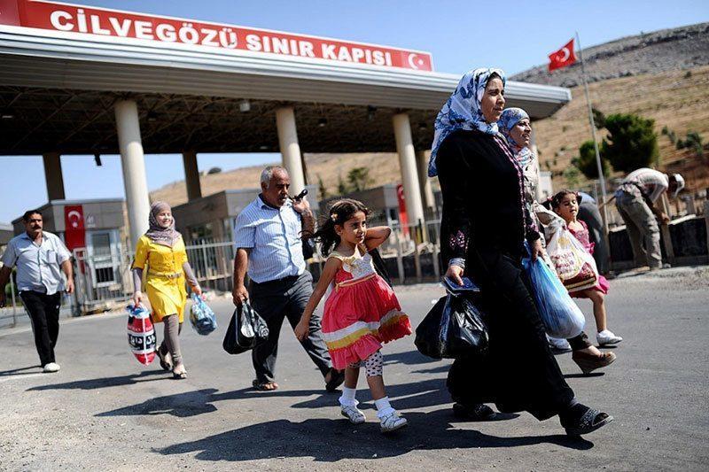Refugees Arrive