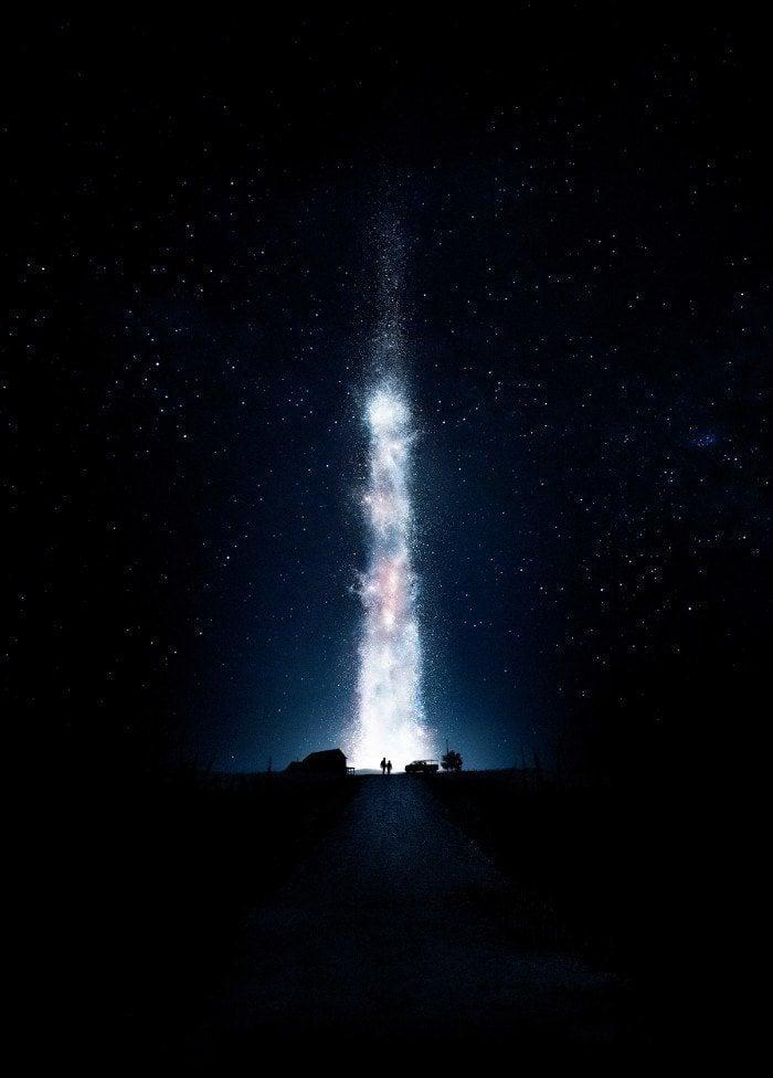 Textless Movie Posters Interstellar