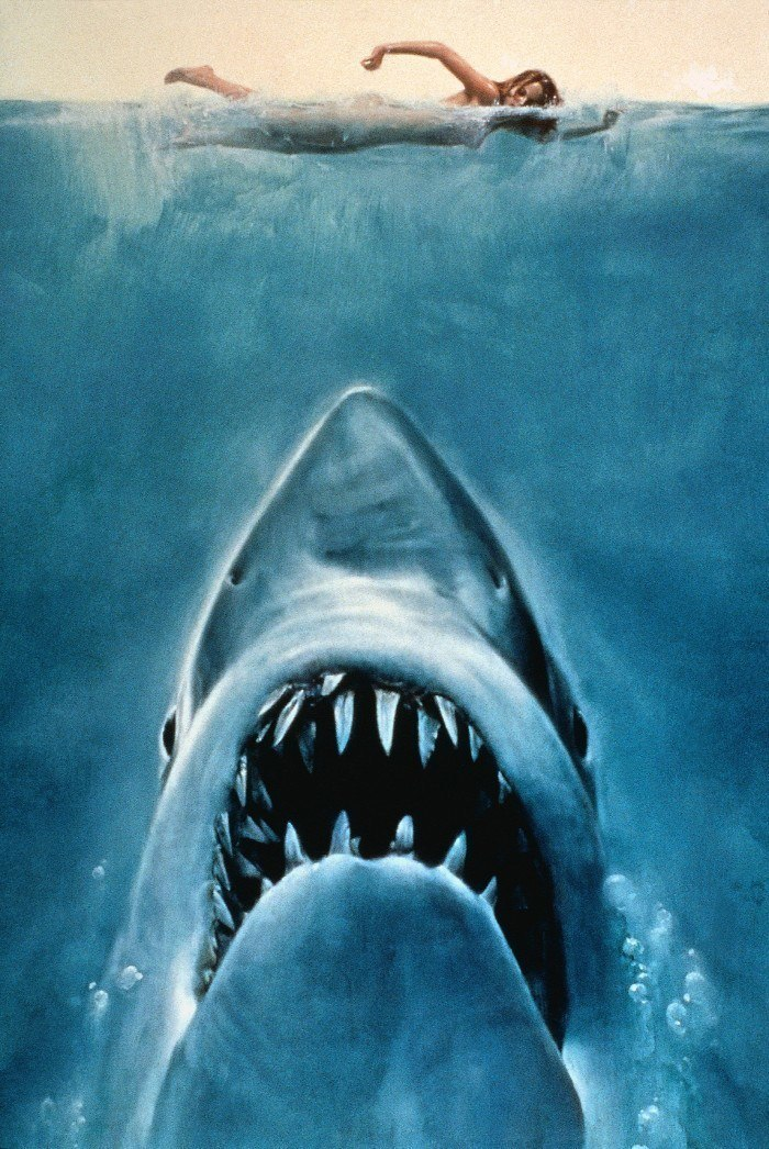 Textless Movie Posters Jaws