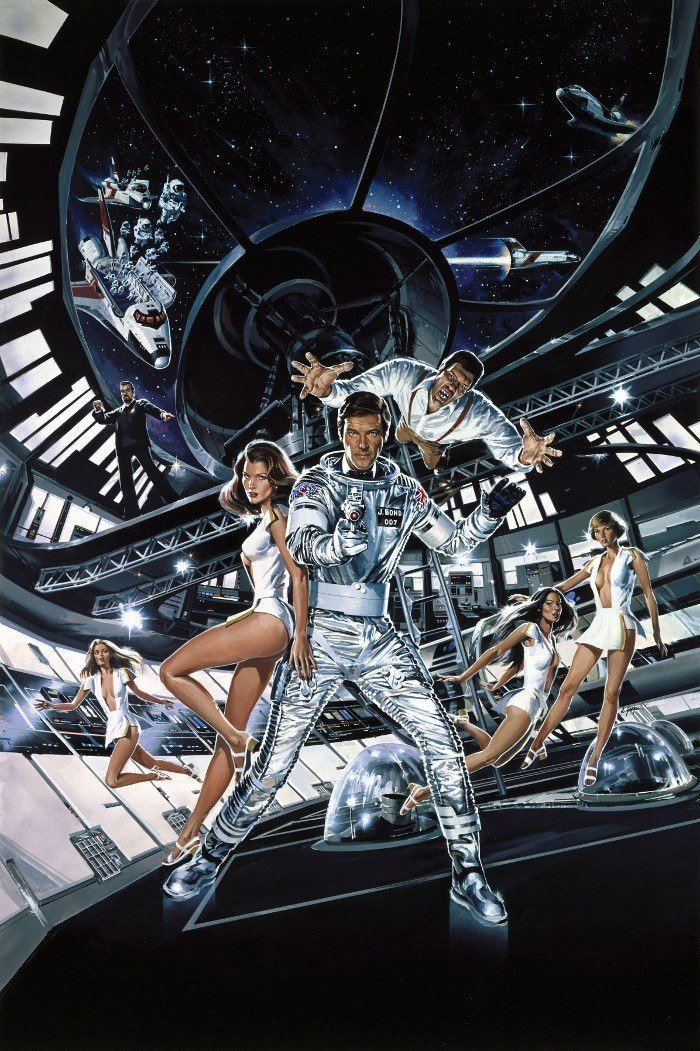 Textless Movie Posters Moonraker