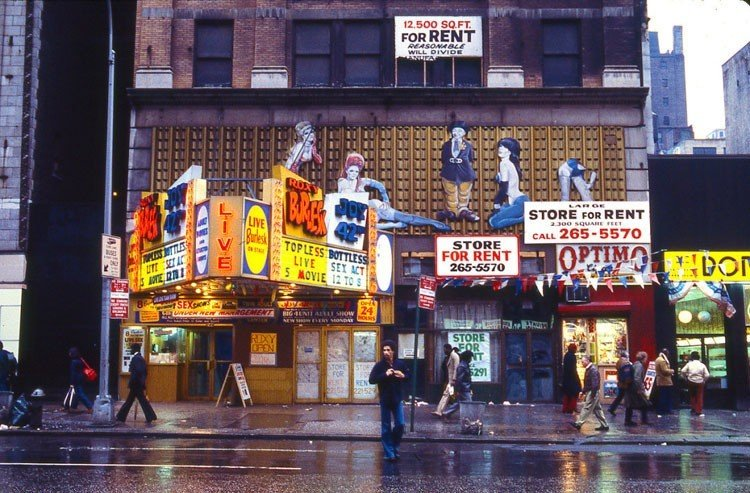 1970s Times Square 42nd