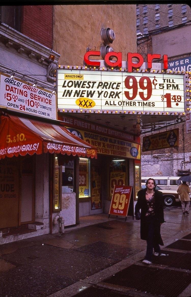 1970s Times Square Capri
