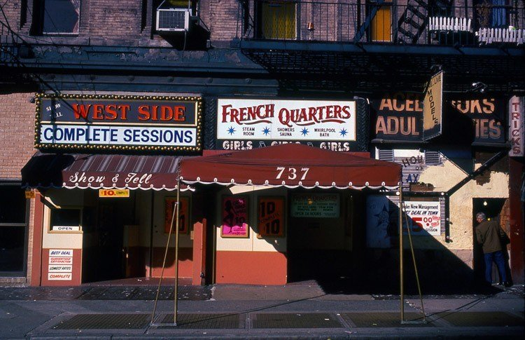 1970s Times Square French Quarters