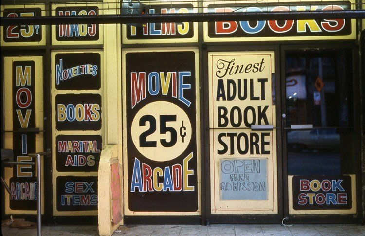 1970s Times Square Movie Arcade