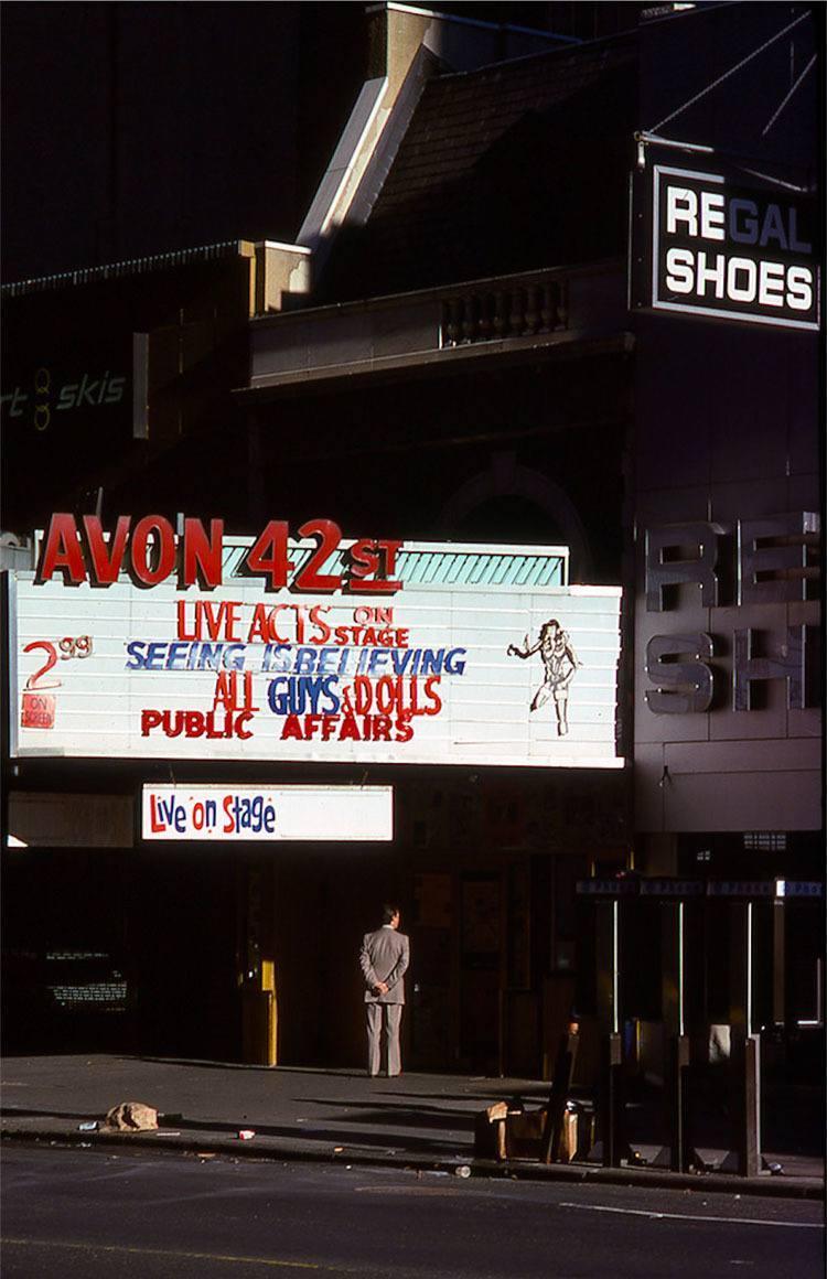 1970s Times Square Businessman