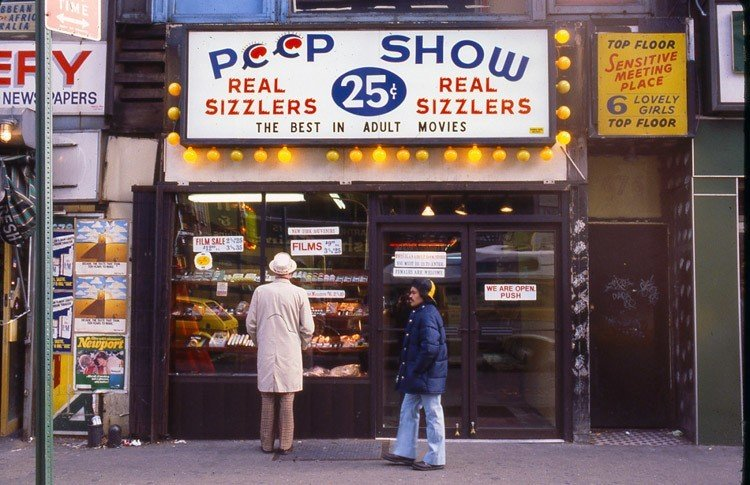 1970s Times Square Peep Show