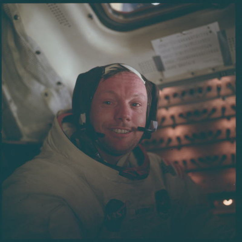 Apollo Project Archive Armstrong