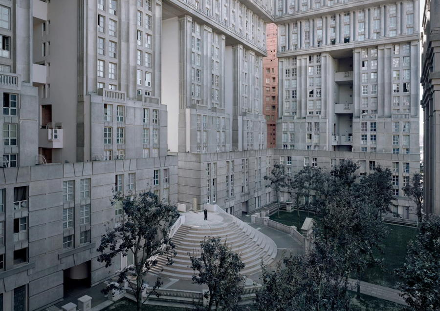 Abandoned Paris Apartment Complex