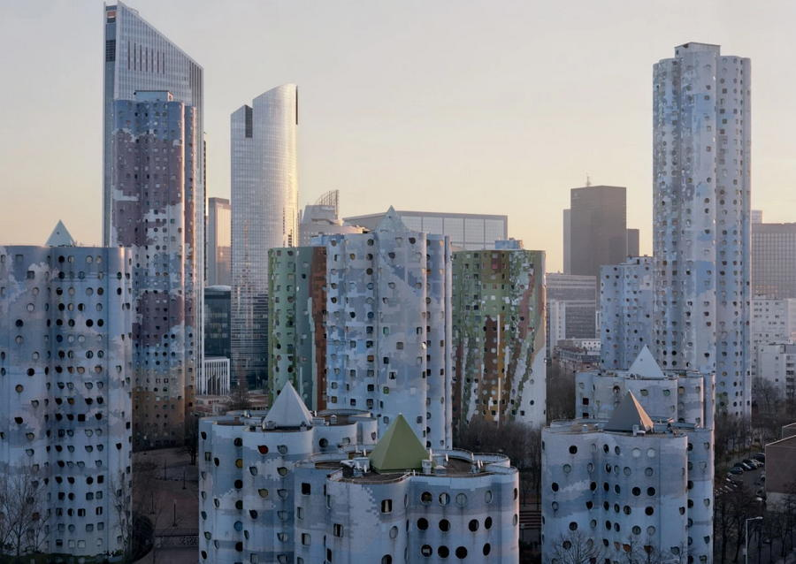 Abandoned Paris Tall Buildings