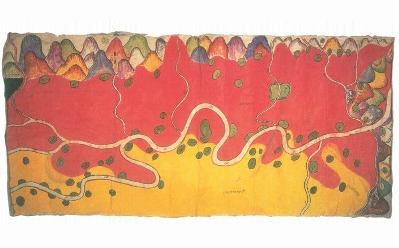 Ancient Maps Burma China Border