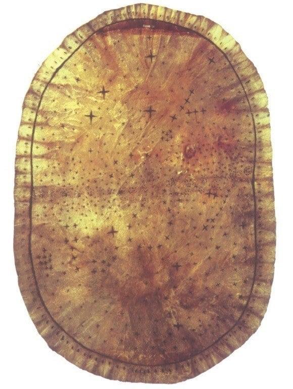 Ancient Maps Deerskin
