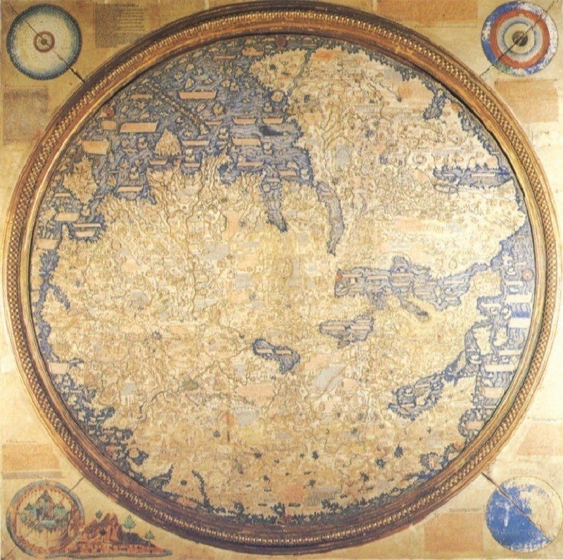 Ancient Maps Fra Mauro