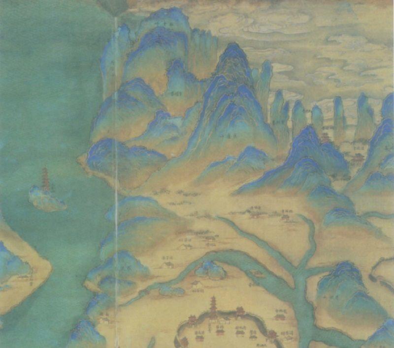 Ancient Maps Jiangxi