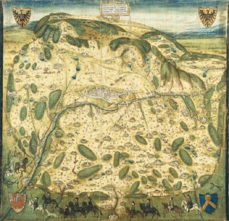 Ancient Maps Landscape