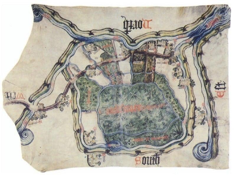 Ancient Maps Yorkshire Peat